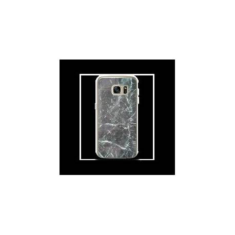 Coque Galaxy S6 Edge transparente Plexiglass Neo Moxie® Noir