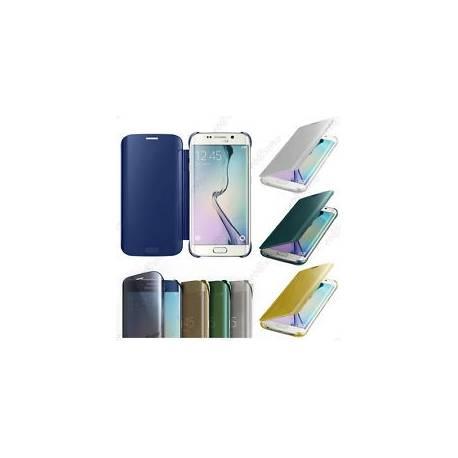 Housse Coque Etui View Clear Cover Film Samsung Galaxy S6, S6 Edge, S6 Edge Plus