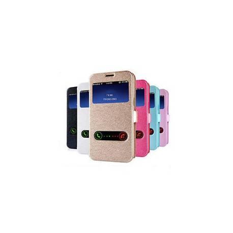 Etui Housse Coque Portefeuille en Imitation Cuir Protection pour Samsung Galaxy