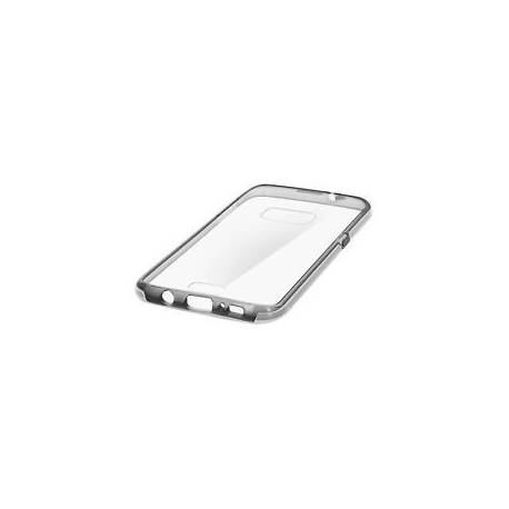 Coque bi-matière dos rigide contour souple pour Samsung Galaxy S7 Edge - Noir