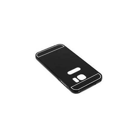 Coque Bumper Aluminium Arrière Amovible Noir Samsung Galaxy S7