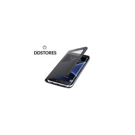 Samsung S View Etui pour Galaxy S7 Edge Noir