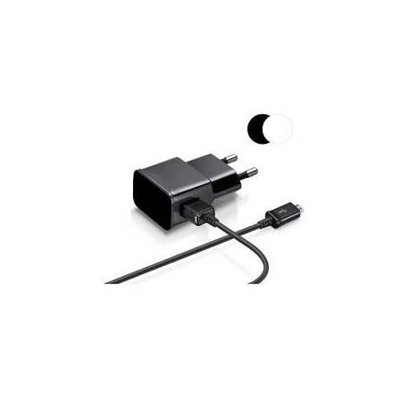Chargeur Secteur + Câble Micro Usb Pour Samsung Galaxy S7