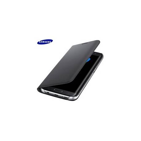 Etui Folio Flip Wallet SAMSUNG EF-WG935PBEGWW Noir pour SAMSUNG Galaxy S7 edge