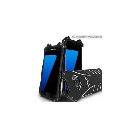 R-Just Batman métal aluminium antichoc Case Cover pour Samsung Galax S6 S7 S 8+ + +
