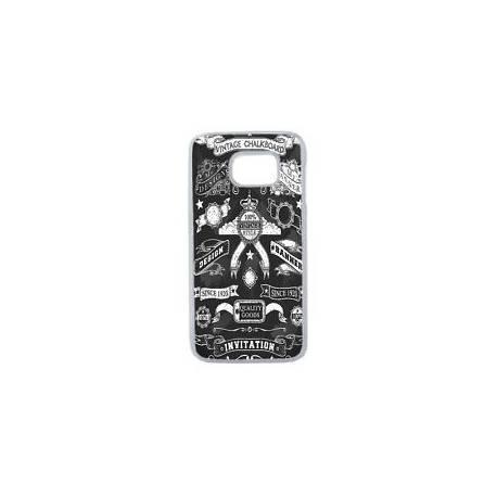 Coque Rigide Vintage Western Pour Samsung Galaxy S7 Edge