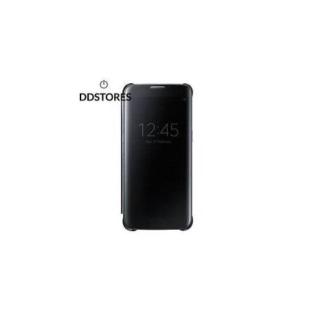 Samsung Clear View Etui pour Galaxy S7 Edge Noir