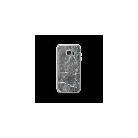 Coque Samsung Galaxy S7 Edge motif Marbre Noir