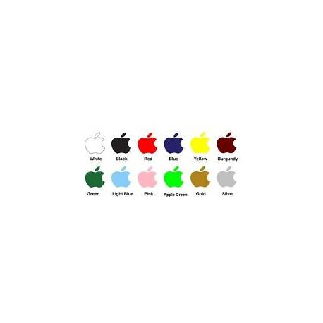 3 X Apple Logo Autocollant Décalque Pour iPhone, iPod, remplacement Decal C06
