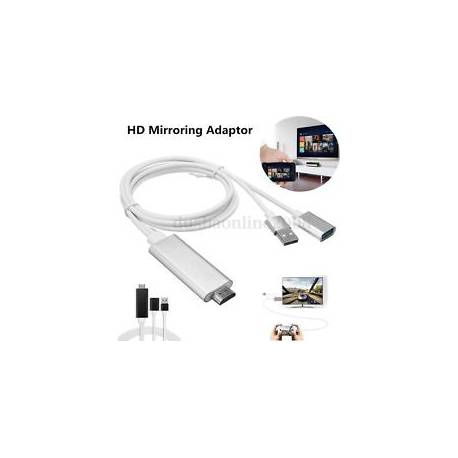3 en 1 USB HDTV HDMI HD Adaptareur Câble Pr Samsung S7 Edge iPhone 7 Universel