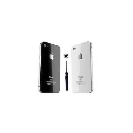 Nouveau remplacement arrière verre pour Apple iPhone 4 4S arrière couvercle batterie noir/blanc