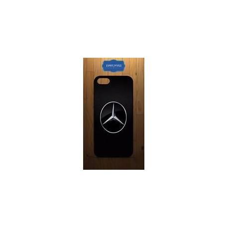 Mercedes Benz Voiture Logo iPhone en plastique dur ou étui en caoutchouc Couvre H16