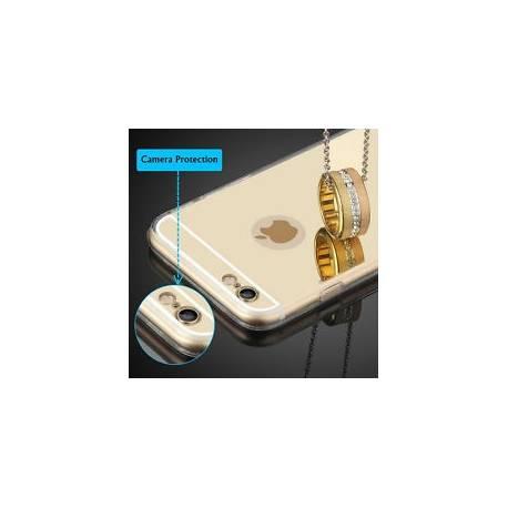 Etui Housse Coque Miroir Bumper Slim Case Rigide Bumper pour iPhone 7 6 5 6S SE