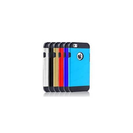 Slim tpu hard case Choc Preuve Armure Builder couverture pour Apple / téléphones samsung