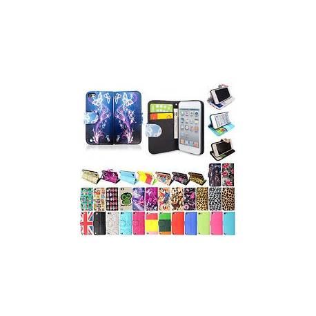 Portefeuille en cuir new Flip Housse Pour Apple iPod Touch 4e 5e 6e génération