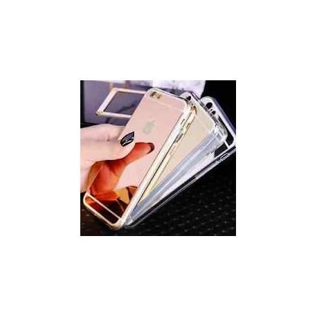 Étui De Portable Miroir Mirror Soft Case Pochette De Protection Coque Arrière
