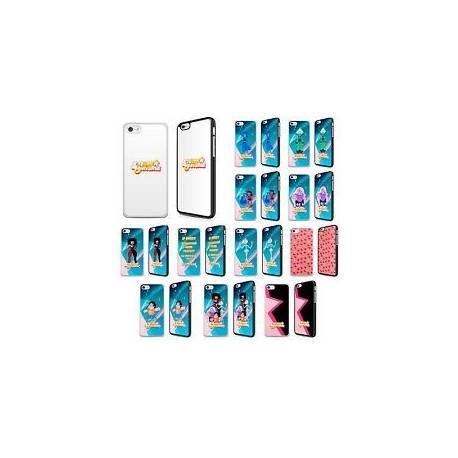 Steven univers Téléphone Étui Housse Cristal Gem Garnet Amethyst Pearl pour Iphone FP