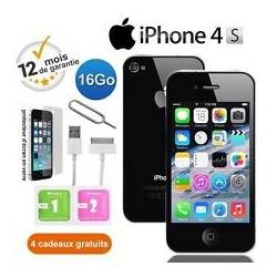 Apple iPhone 4S 16Go Noir Usine DÉBLOQUÉ Téléphones Mobiles FR