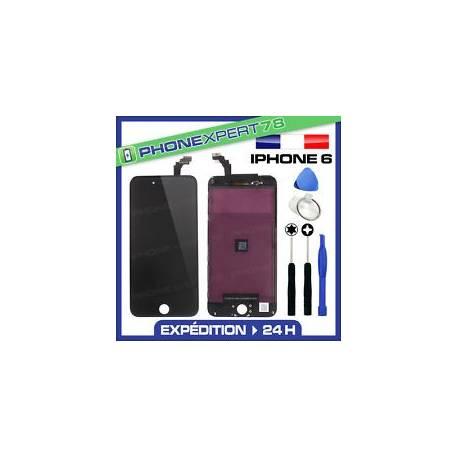 VITRE TACTILE + ECRAN LCD RETINA ORIGINAL POUR IPHONE 6 NOIR + OUTILS