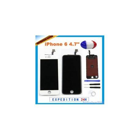 Écran LCD retina et Cadre + Vitre Tactile + Outils Noir / Blanc Pour IPHONE 6