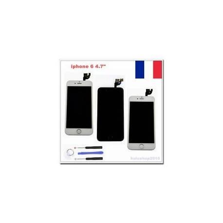 Noir/Blanc/Doré Pour iPhone 6 KIT COMPLET ÉCRAN LCD CHASSIS VITRE TACTILE+Outils