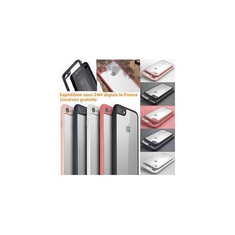 Pr iPhone 6S/6/ 7/Plus HOUSSE ETUI ANTICHOCS COQUE CLAIR Bumper TPU Case Cover