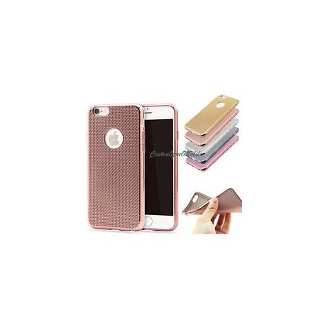 Luxe Coque iPhone Brillant Paillettes Bling Silicone ETUI Housse NEUF Plated +