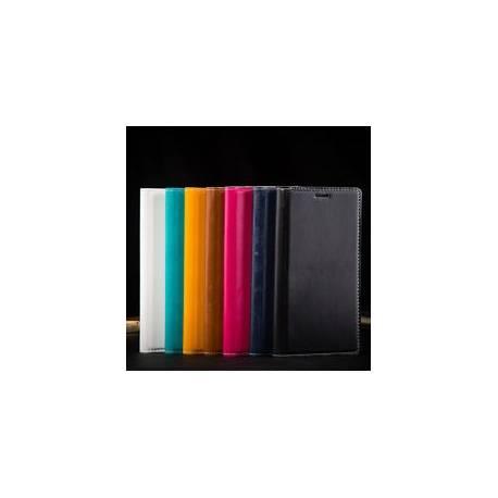 CUIR Véritable Coque Etui Housse iPhone Samsung Cadeau Flip Cover Case Support +