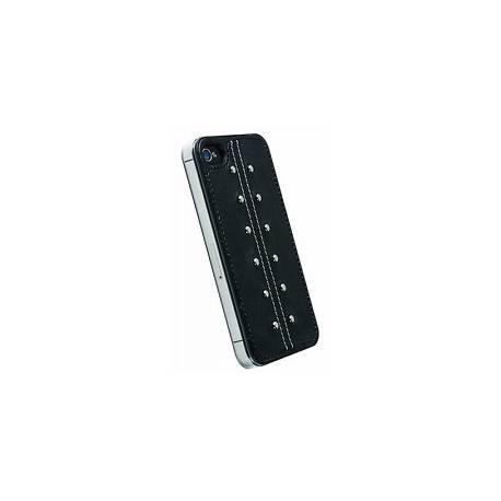 Krusell 11635 Coque pour iPhone 4/4S Kalix UnderCover Noir