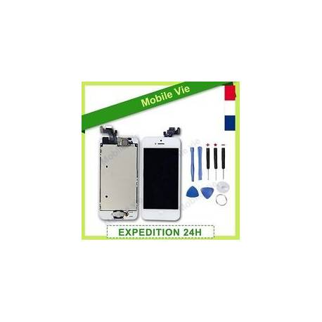 ECRAN COMPLET IPHONE 5/5C/5S/6/6+/6S/6S+/7 VITRE TACTILE+LCD RETINA SUR CHASSIS