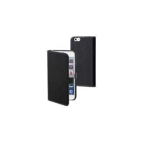 MUVIT Etui slim folio noir pour iPhone 6 + MUSLI0563