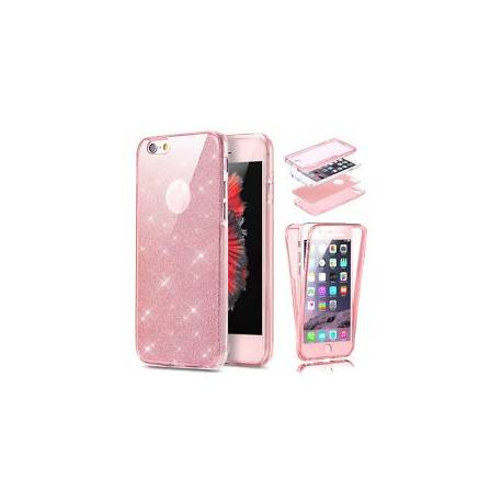 HOUSSE ETUI COQUE Blingbling 360° PROTECTION INTEGRAL PAILLETTES POUR IPHONE