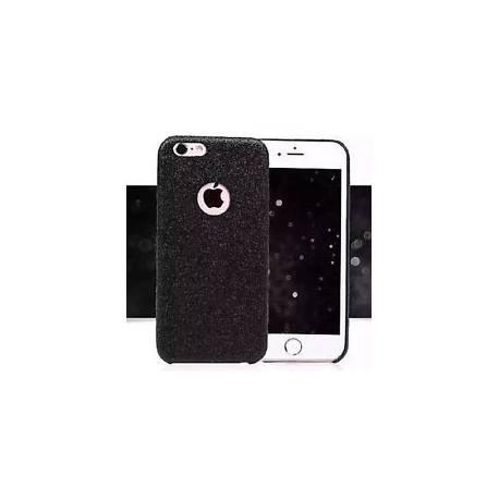 Coque Silicone Semi Rigide Brillant Strass Bling Bling Noir Black Iphone 5 5S