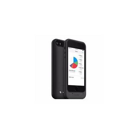 Mophie Space Pack de Stockage et Batterie Case pour Apple iPhone 5/5s - Noir