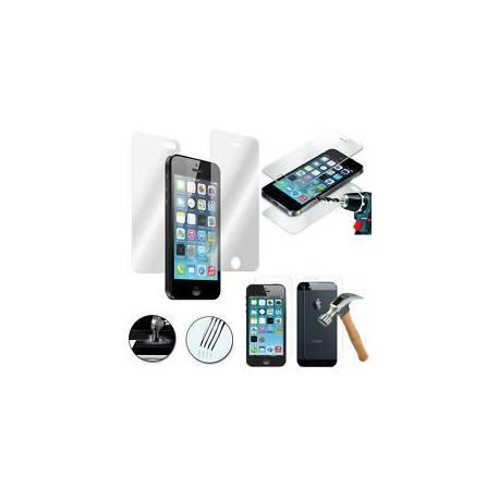 Vitre Film Protection Verre Trempé AVANT et ARRIÈRE Apple iPhone 5SE/ iPhone SE