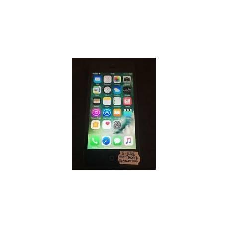 IPhone 5 - 16 Go Noir (Débloqué) Smartphone défectueux * 5008 *