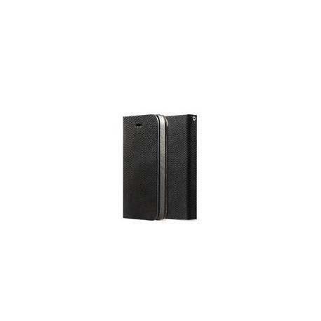 Zenus Étui portefeuille pour iPhone 5, 5S Noir