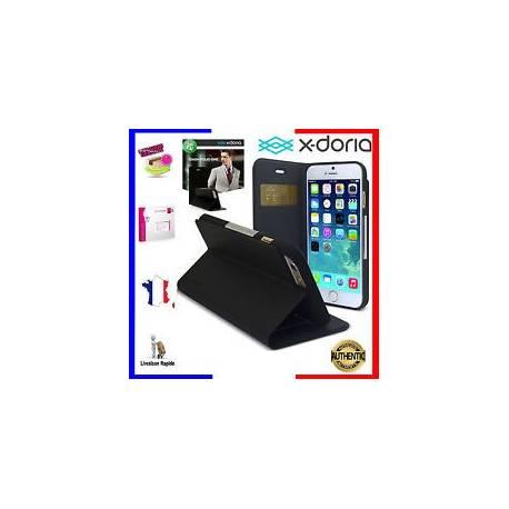 X-DORIA Housse Pochette Coque Étui Dash Folio One pour iPhone 6 Plus 6S Plus