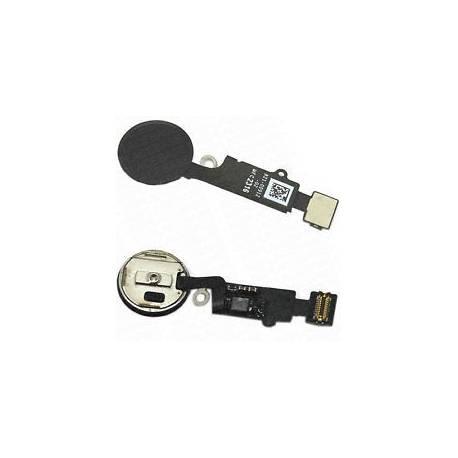 Pour apple iphone 7 plus-remplacement bouton home-noir-oem