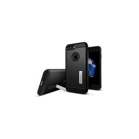 Coque iPhone 7 Plus, Spigen® [Tough Armor] HEAVY DUTY [Noir] NEUF