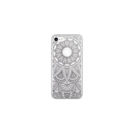 Moxie Coque rigide iPhone 7 motif Mandala noir