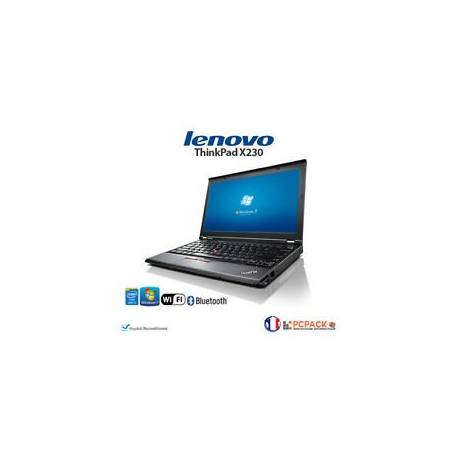 PC PORTABLE LENOVO THINKPAD X230 i5 16Go 480Go SSD Windows 7 GAMME PRO