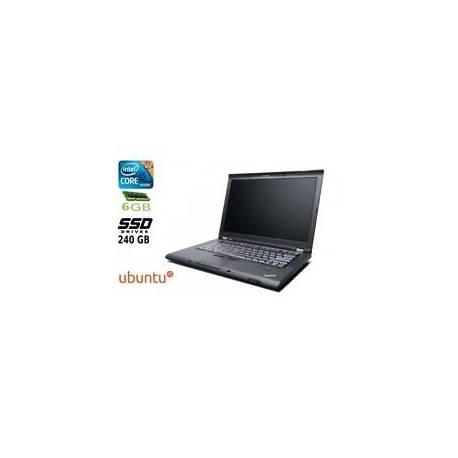 Ordinateur portable Lenovo Thinkpad T410S Core I5 Disque SSD 240GB 6GB RAM L
