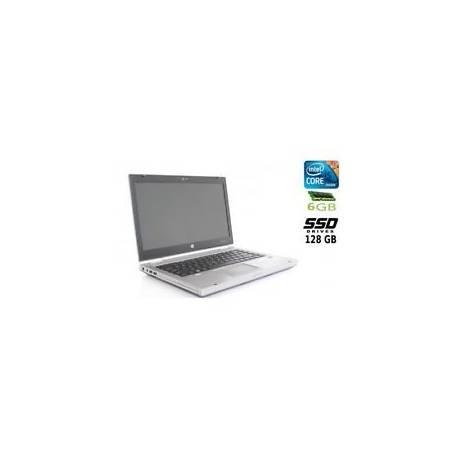 Ordinateur portable sans système HP EliteBook 8460P Core I5 Disque SSD 128GB