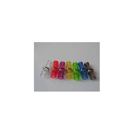 embouts de couleur translucide pour cigarette electronique ce4/ce5/ce6