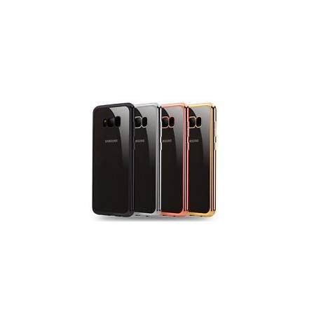 Amzer Pudding Coque en TPU pour Samsung Galaxy S6Edge-Noir